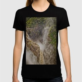 Beautiful waterfall in the rainforest T-shirt