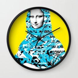Mona Lisa Platina 3 Wall Clock