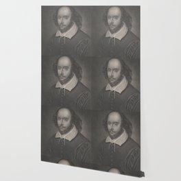 Vintage Portrait of William Shakespeare (1800s) Wallpaper