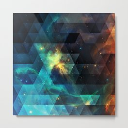 Galaxies I Metal Print