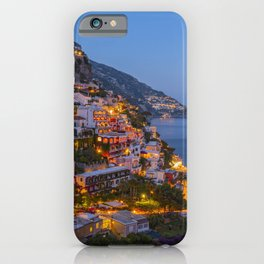 A Serene View of Amalfi Coast in Italy iPhone Case