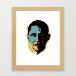 Obama 1 Framed Art Print