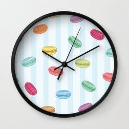 Mini Macarons Wall Clock