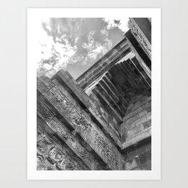 Mendut Temple Art Print