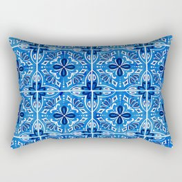 Sevilla - Spanish Tile Rectangular Pillow