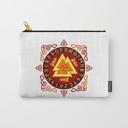 Nordic Valknut Carry-All Pouch