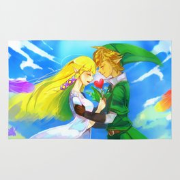 Zelda in love Rug