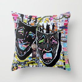 On Broadway Throw Pillow