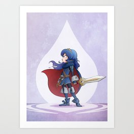 Little Lordly Daughter Art Print
