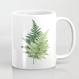 Summer Forest Ferns Coffee Mug