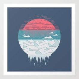 The Great Thaw Art Print