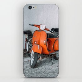 Let's go see the world on our Scooter iPhone Skin