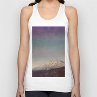 mountain Tank Tops featuring Mountain by Leah Flores