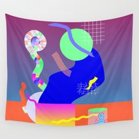 science Wall Tapestries featuring Science Party by Special Edition Co