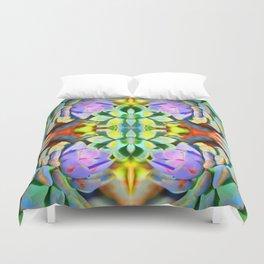 Succulent Color - Botanical Art by Sharon Cummings Duvet Cover