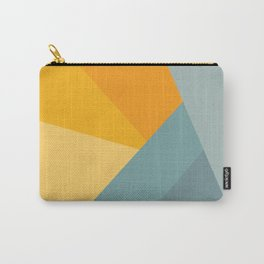 Abstract Mountain Sunrise Carry-All Pouch