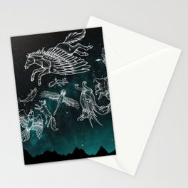 Midnight Menagerie Stationery Cards