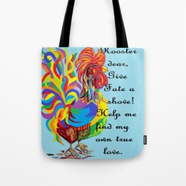 German Folklore Roosters and Husbands Tote Bag