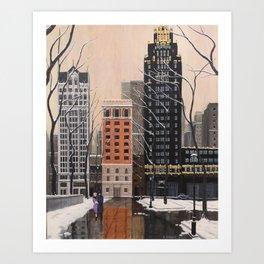 Bryant Park Art Print