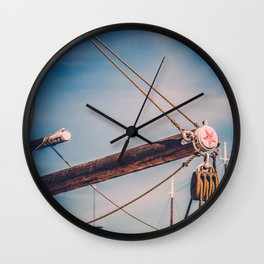 Follow the Star Wall Clock