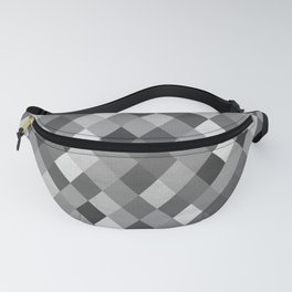 Black and White Harlequin Fanny Pack