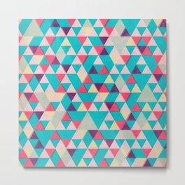 Triangles game Metal Print