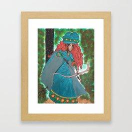 Princess Merida Framed Art Print