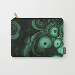 Curls and patterns of malachite Carry-All Pouch