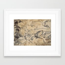 Aurignacian Art Framed Art Print