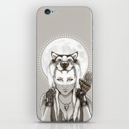 Fear Makes the Wolf... iPhone Skin