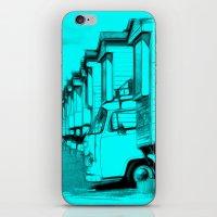 volkswagen iPhone & iPod Skins featuring Volkswagen Van by Rainer Steinke