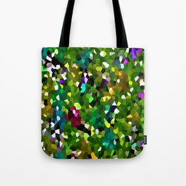 Pineapple Abstract Geometric Tote Bag