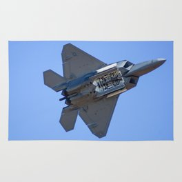 Avalon Airshow - F-22A Raptor Rug