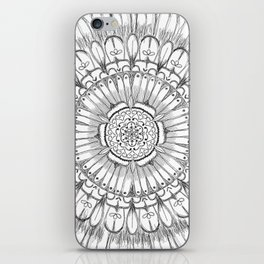 Flower Mandala iPhone Skin