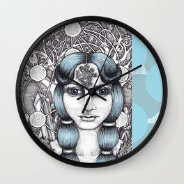 Maiden of Midgard Wall Clock