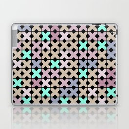 Abstract pattern . To embroider a cross . Laptop & iPad Skin