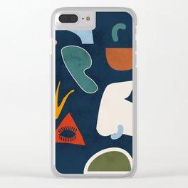 minimal II Clear iPhone Case