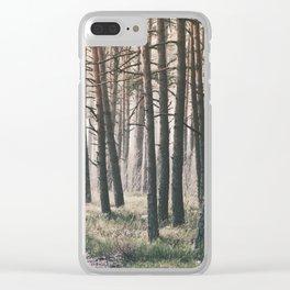Woods in Ziepniekkalns Clear iPhone Case