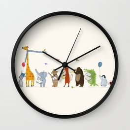 little parade Wall Clock