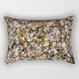 Cape Ann Beach Sand Rectangular Pillow