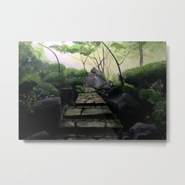 Enter the Garden Metal Print