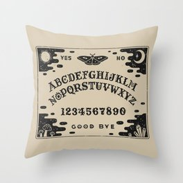 Spirit Board Throw Pillow