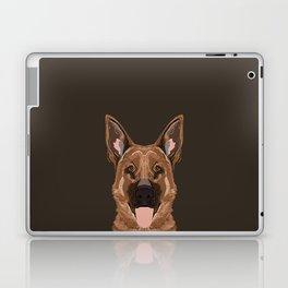 Skylar - German Shepherd gifts for dog people dog lover gifts german shepherd owners perfect gifts  Laptop & iPad Skin