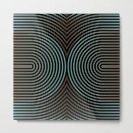 concentric 102 Metal Print