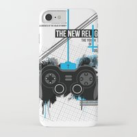 religion iPhone & iPod Cases featuring New Religion by 2EQUALS