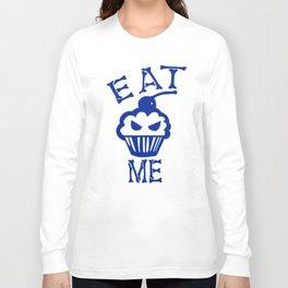 Eat Me (Blue Version) Long Sleeve T-shirt