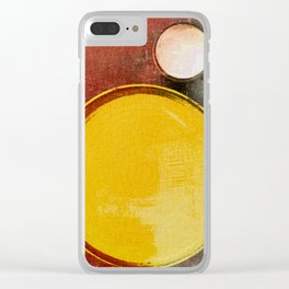 Kuaray and Jacy (Sun and Moon) Clear iPhone Case