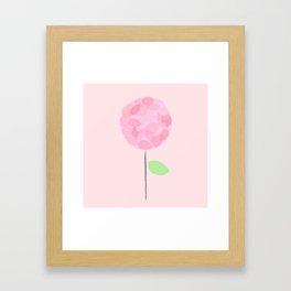 Flower Pink Framed Art Print