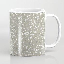 Crosshatch - Taupe Coffee Mug