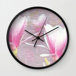 Magnolia 4 Wall Clock